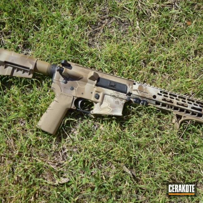 Cerakoted: Rifle,Vortex,Coyote Tan H-235,Kryptek,BENELLI® SAND H-143,GLOCK® FDE H-261,Weatherby