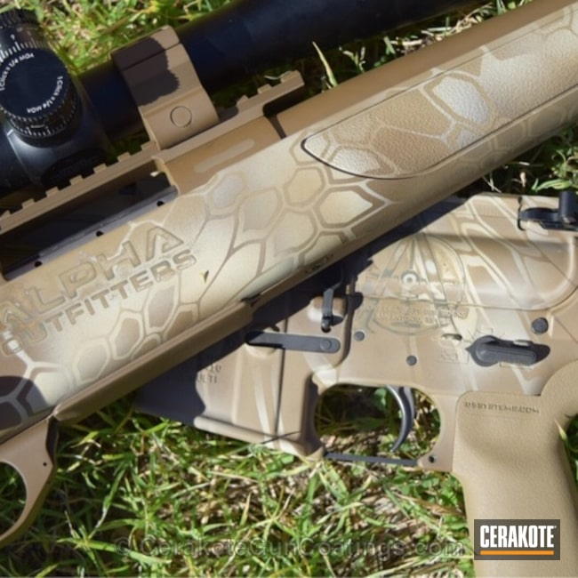 H-143 Benelli Sand, H-261 Glock FDE, H-235 Coyote Tan and H-226 Patriot Brown