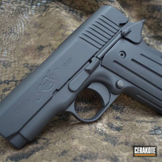 Cerakoted: Sniper Grey H-234,Kimber,Handguns,Sniper Grey