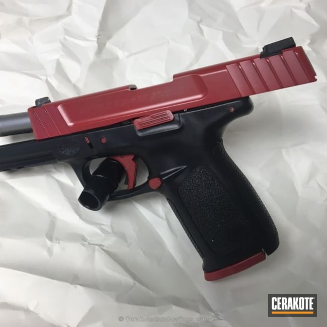 H-216 Smith & Wesson Red