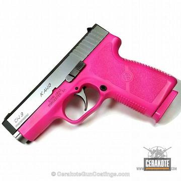Cerakoted H-141 Prison Pink And H-224 Sig Pink