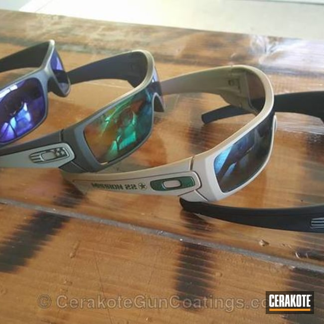 oakley cerakote gascan 5pf9  Mobile-optimized version of the 2nd project picture Graphite Black H-146Q,
