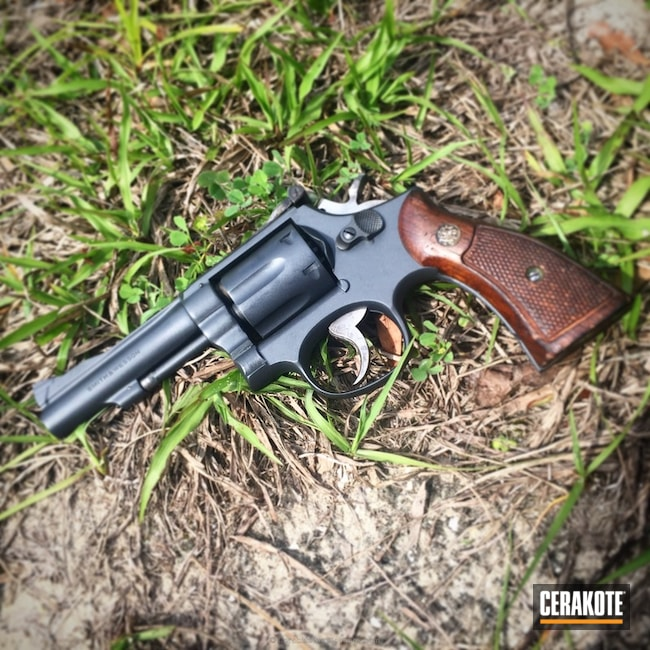 Cerakoted: Sniper Grey H-234,Smith & Wesson,Revolver,Solid Tone,Gun Coatings