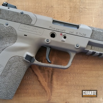 Cerakoted H-216 Smith & Wesson Red And H-265 Flat Dark Earth