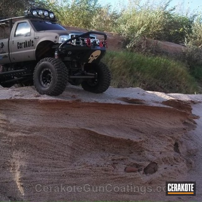 Cerakoted: MAGPUL® FLAT DARK EARTH H-267,Custom,Graphite Black H-146,More Than Guns,RC Truck