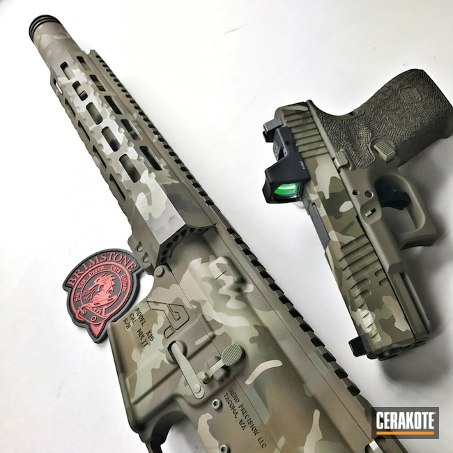 H-267 MagPul Flat Dark Earth, H-232 MagPul O.D. Green, H-226 Patriot Brown, H-204 MultiCam Green, H-247 Desert Sage and H-261 Glock FDE