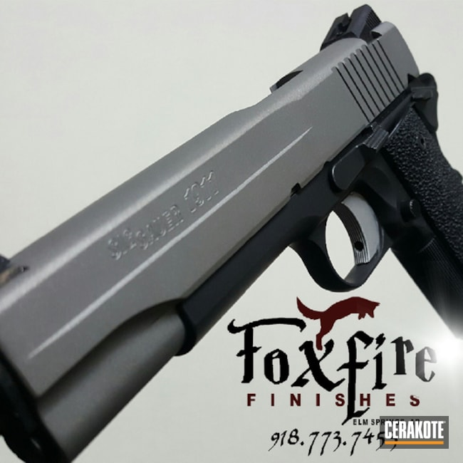 Cerakoted: SAVAGE® STAINLESS H-150,Sig Sauer 1911,Pistol,Sig Sauer,1911