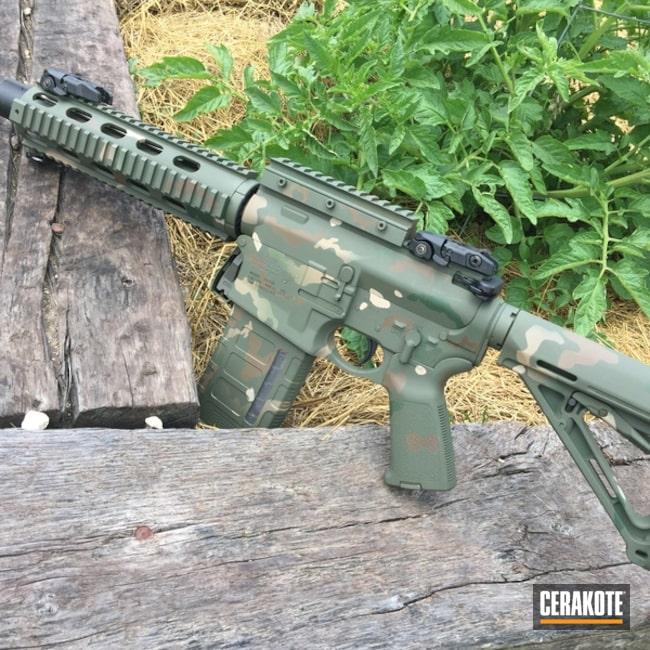 Cerakoted: HAZEL GREEN H-204,MultiCam,Woodland Camo,AR-10,MAGPUL® O.D. GREEN H-232,.308,MAGPUL® FOLIAGE GREEN H-231