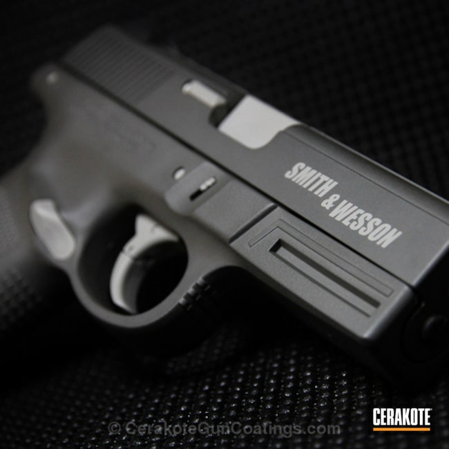 Cerakoted: Smith & Wesson,BATTLESHIP GREY H-213,SIG™ DARK GREY H-210,Handguns
