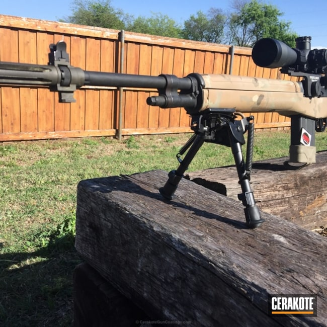Cerakoted: Bolt Action Rifle,HAZEL GREEN H-204,MultiCam,Mud Brown H-225,M1A,Desert Sand H-199,MFR,MAGPUL® O.D. GREEN H-232
