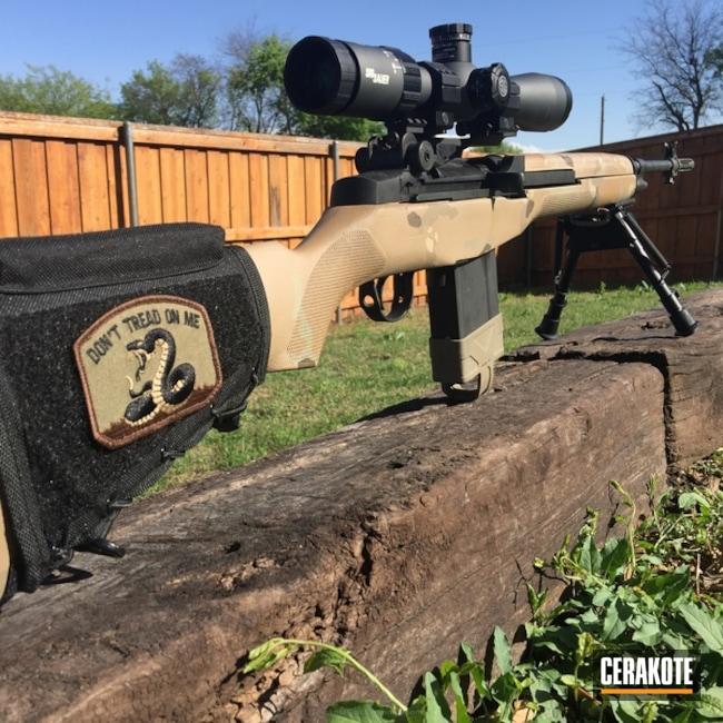 Cerakoted: Bolt Action Rifle,HAZEL GREEN H-204,MultiCam,Mud Brown H-225,M1A,Desert Sand H-199,MFR,MAGPUL® O.D. GREEN H-232