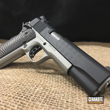 Cerakoted H-146 Graphite Black And H-152 Stainless