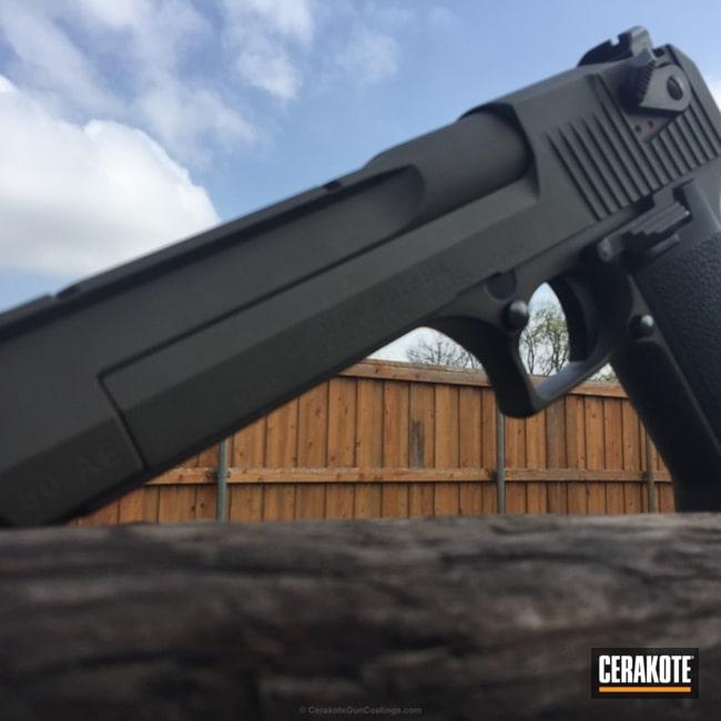 Cerakoted: Desert Sage H-247,Desert Eagle,MFR,Pistol,Forest Green H-248