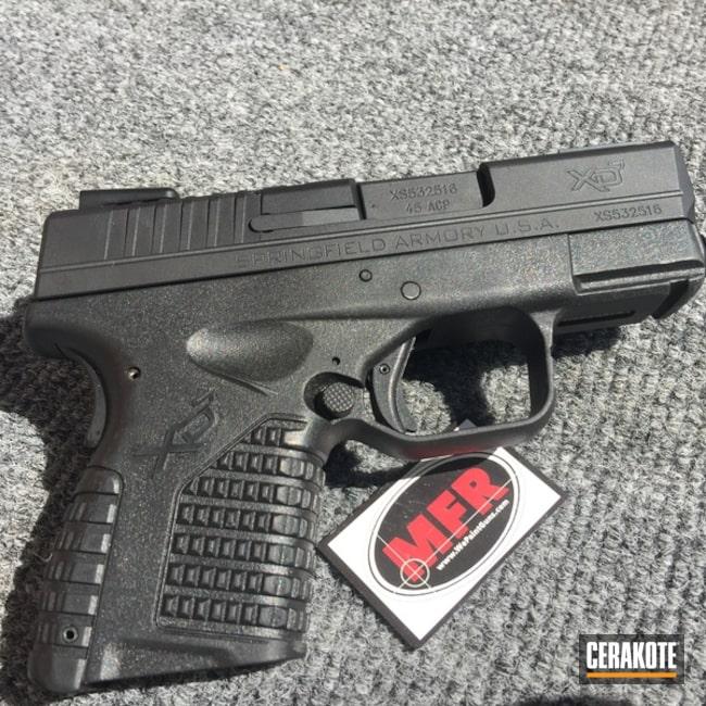 Cerakoted: Graphite Black H-146,MFR,Pistol,Sig Sauer,Rust