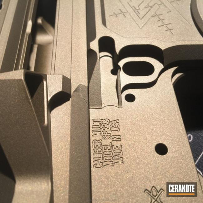 Cerakoted: Upper / Lower,Burnt Bronze H-148,Solid Tone,MFR