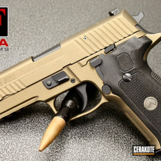Thumbnail version of the 4th project picture. Sig Sauer, Pistol, EDC, Sig Sauer P226, Conceal Carry, Burnt Bronze H-148Q, Legion