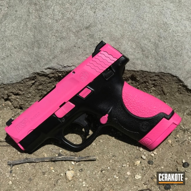 "Thumbnail image for project ""H-141 Prison Pink and H-146 Graphite Black"""