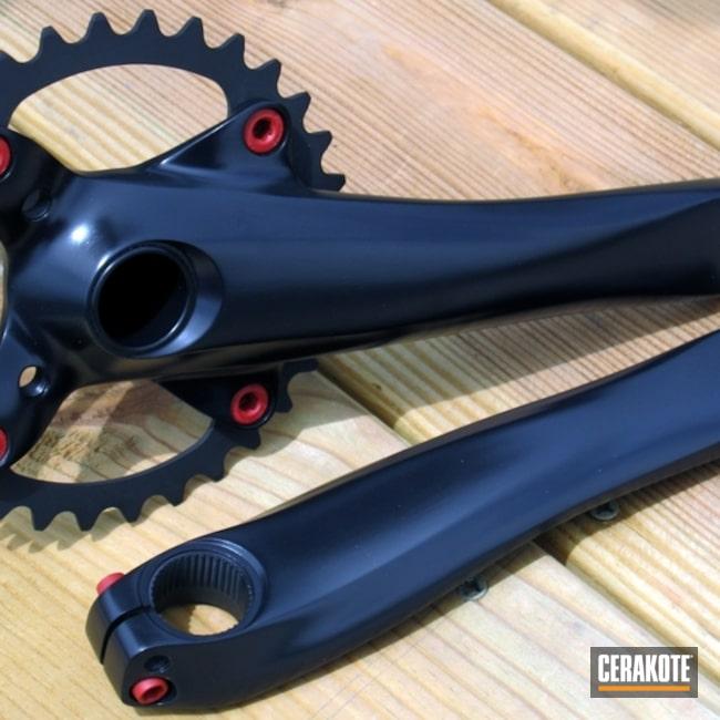 Cerakoted: Midnight Blue H-238,Bicycle