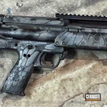 Cerakoted H-237 Tungsten And H-146 Graphite Black