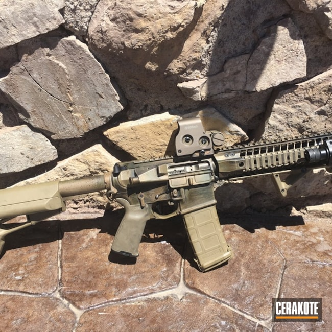 H-267 MagPul Flat Dark Earth, H-236 O.D. Green, H-148 Burnt Bronze and H-146 Graphite Black