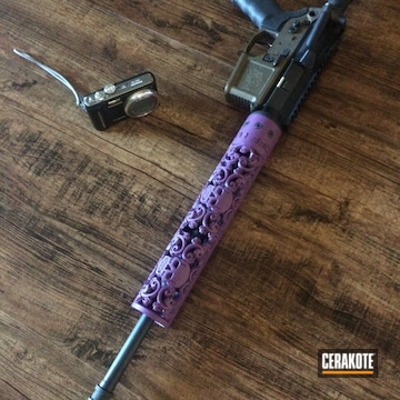 Cerakoted H-197 Wild Purple And H-217 Bright Purple