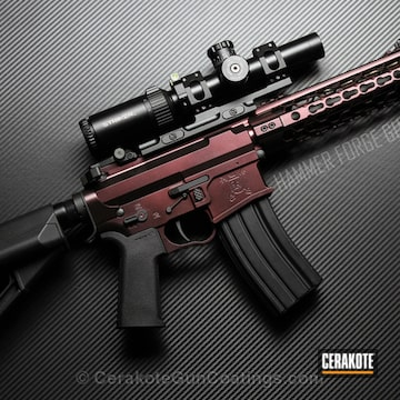 Cerakoted H-146 Graphite Black And H-300 High Gloss Armor Clear