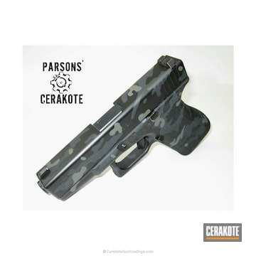 Cerakoted H-262 Stone Grey, H-188 Magpul Stealth Grey, H-146 Graphite Black And C-209 Sig Dark Grey