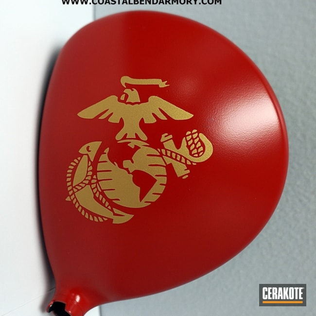 H-167 USMC Red and H-122 Gold