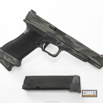 Cerakoted H-146 Graphite Black And H-214 Smith & Wesson Grey