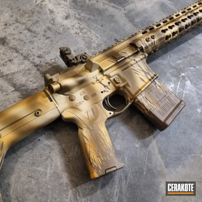 H-267 MagPul Flat Dark Earth, H-122 Gold, H-199 Desert Sand, H-136 Snow White, H-30118 Federal Standard Field Drab, H-143 Benelli Sand and H-235 Coyote Tan