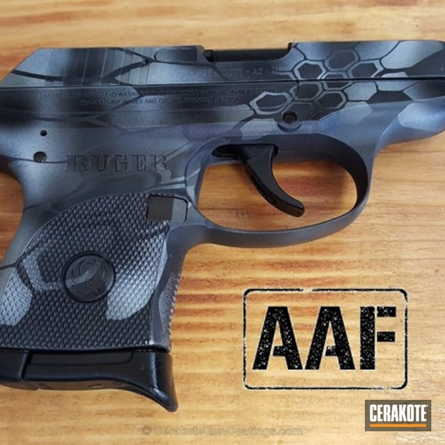H-146 Graphite Black, H-234 Sniper Grey, H-242 Hidden White and H-214 Smith & Wesson Grey