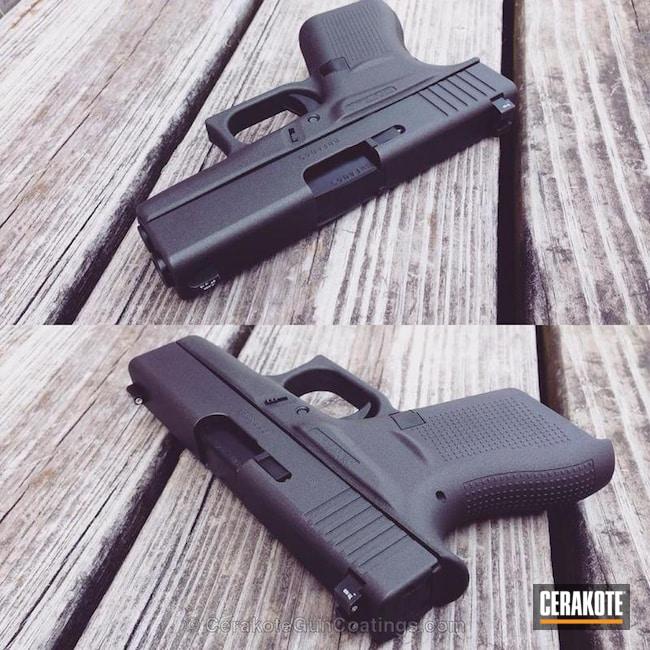 Cerakoted: Solid Tone,Pistol,Glock,Cobalt H-112