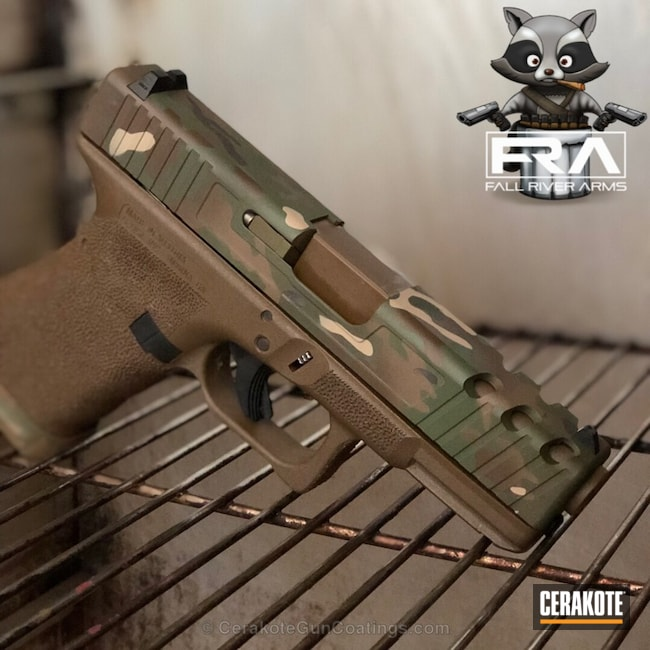 H-267 MagPul Flat Dark Earth, H-232 MagPul O.D. Green and H-400 Jesse James Eastern Front Green