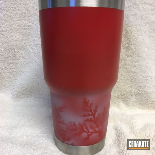 Mobile-friendly version of the 3rd project picture. Graphite Black H-146Q, Not Just Guns, USMC Red H-167Q, Battleship Grey H-213Q, Ozark Trail, Custom Tumbler Cup
