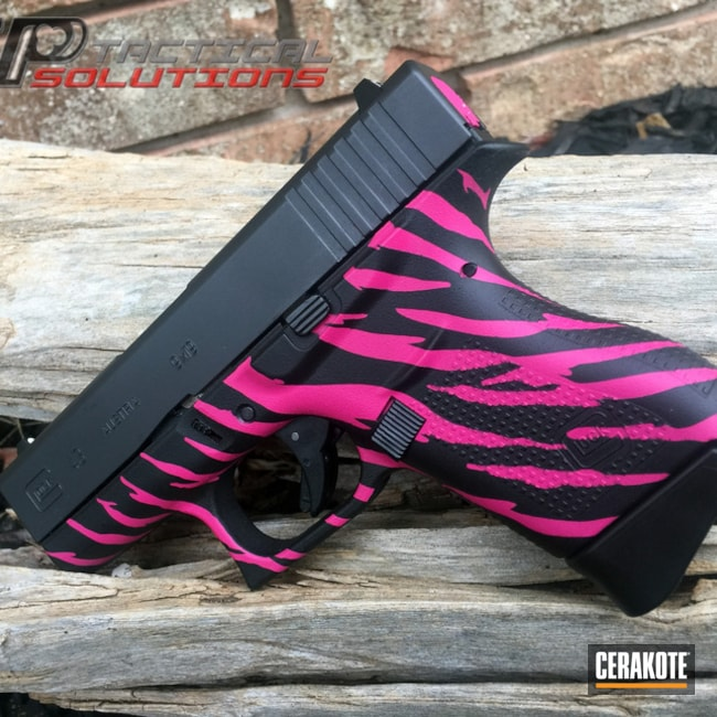 H-146 Graphite Black and H-224 Sig Pink