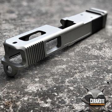 Cerakoted H-158 Shimmer Aluminum