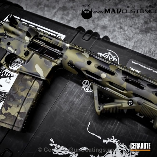 H-146 Graphite Black, H-231 MagPul Foliage Green, H-234 Sniper Grey and H-139 Steel Grey