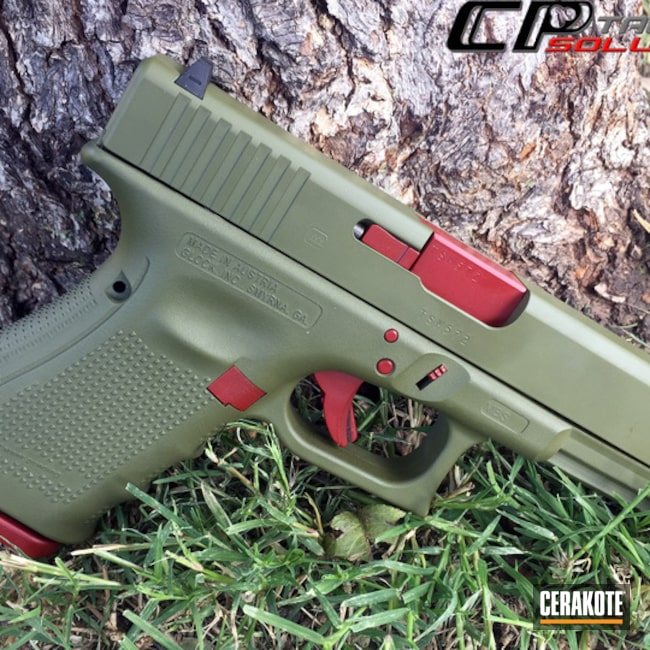 H-216 Smith & Wesson Red and H-189 Noveske Bazooka Green