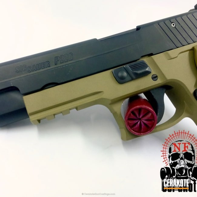H-255 Crushed Silver and H-261 Glock FDE
