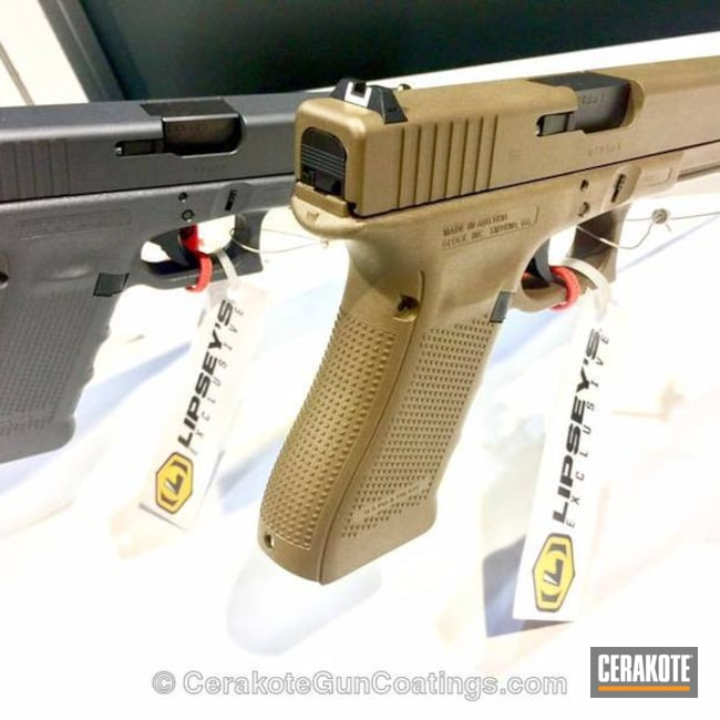 H-261 Glock FDE and H-184 Glock Grey