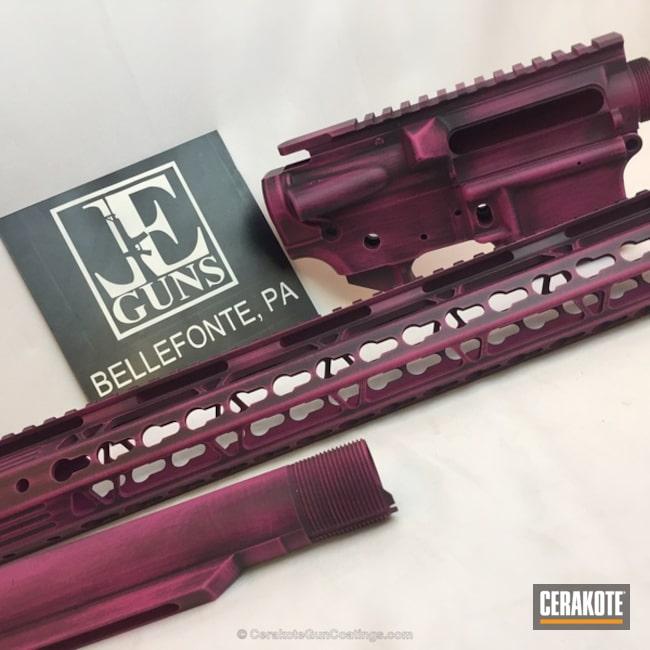 Cerakoted: Graphite Black H-146,SIG™ PINK H-224,Gun Parts