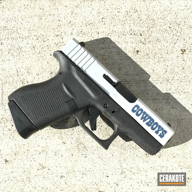 H-127 Kel-Tec Navy Blue and H-255 Crushed Silver