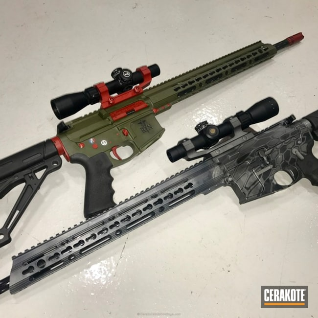 H-227 Tactical Grey, H-221 Crimson, H-234 Sniper Grey, H-238 Midnight Blue, H-240 Mil Spec O.D. Green and HIR-146 Gen II Graphite Black
