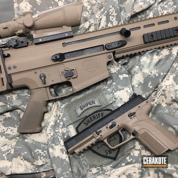 Cerakoted H-267 Magpul Flat Dark Earth