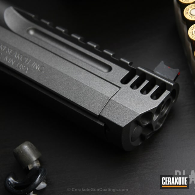 Mobile-friendly version of the 13th project picture. Magnum Research Inc, Two Tone, Pistol, Desert Eagle, Tungsten H-237Q