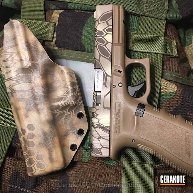 H-267 MagPul Flat Dark Earth, H-199 Desert Sand and H-258 Chocolate Brown
