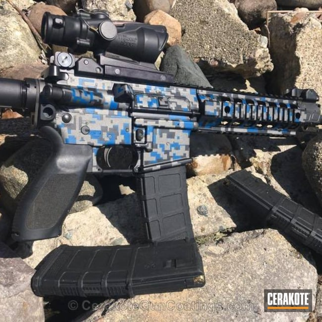 H-171 NRA Blue, H-237 Tungsten and H-190 Armor Black