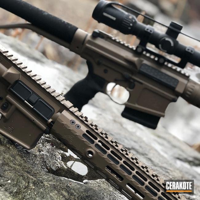 Cerakoted: Aero Precision,Cerakote Elite Series,Coyote M17 Tan E-170,Tactical Rifle,Mega Arms,Smoke E-120,AR-15,Nightforce