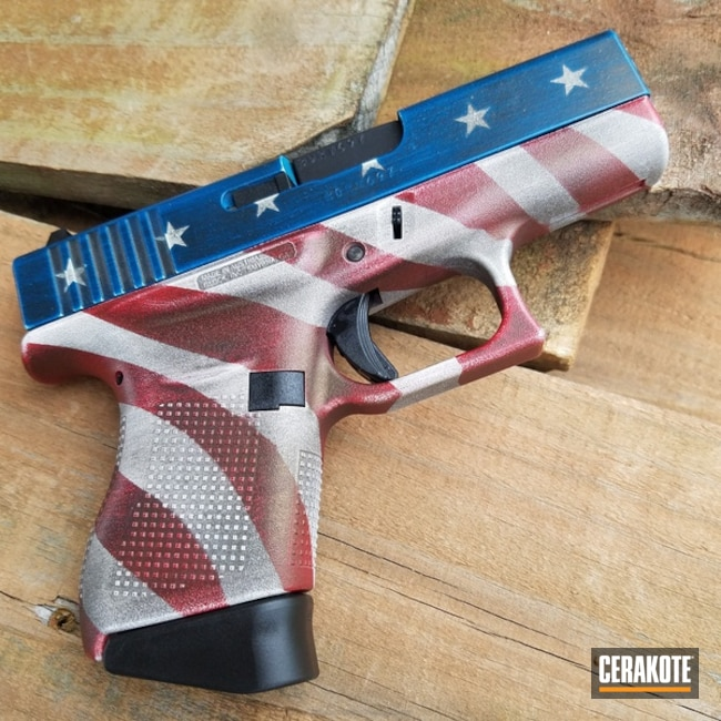 H-216 Smith & Wesson Red with H-136 Snow White and H-169 Sky Blue