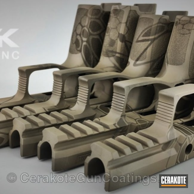 H-267 MagPul Flat Dark Earth with H-226 Patriot Brown and H-199 Desert Sand